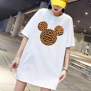 Women Dresses Fashion Summer Womens T Shirt Dresses with Printed 20s New Casual Women Streetwear Dresses Tees Clothing Size M-4XL