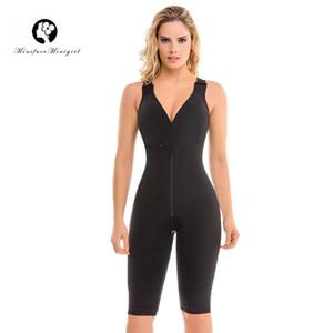 Minifaceminigirl Женщины Совмеры Почтовое Колумбианское Полное тело Фурнитура Пульт для похудения Shapewear Fajas Colombianas CX200803