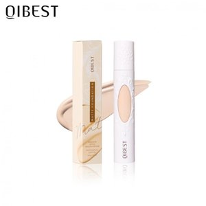 QIBEST-liquid foundation cream, used for facial makeup, long-lasting waterproof foundation concealer, used to control skin oil, QB084