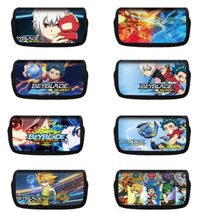 Cute Beyblade Burst Pencil Case Cartoon Multi-function Pen Box School Pencil Case Stationery Bag Small Object Storage Bag