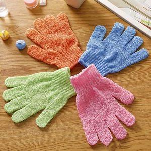 Moisturizing Spa Skin Care Cloth Exfoliating Gloves Cloth Scrubber Face Body Bath Gloves