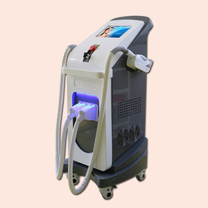 High quality cheap price 2 in 1 ipl shr rf elight nd yag laser hair removal tattoo removal machine for OEM