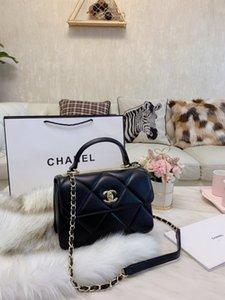 borse delle donne di alta qualità in stile classico inclinato spalla catena borsa tracolla ultima borsa in pelle di moda prima scelta 121561