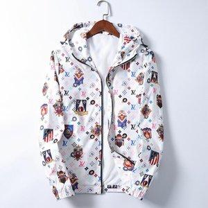 New mens designer jacket designer Coat New Production Hooded Jacket With Letters Windbreaker Zipper Hoodies For Men Sportwear Tops