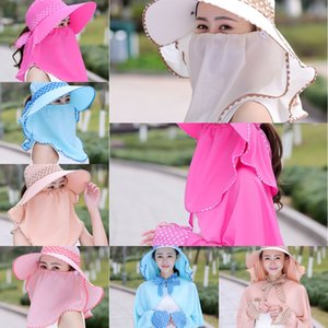 Sun cyclisme costume féminin frais de vélos soleil épreuve Voyage Loisirs mode chapeau d'été cool thé été femmes style coréen chapeau