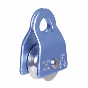 2000kg Flexible Active Pulley Block 360 Degree Wwivel Pulley for Rock Climbing pEel#