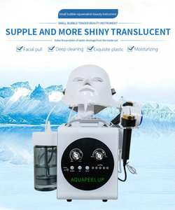 Diamond Water Microdermabrasion Machines 5 In 1 Hydra PDT Radio Frequency Ultrasonic Cavitation Skin Tightening Spa Facial Care Equipment
