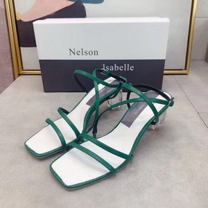 Hot Selling Luxury Designer Fashion Sandals Leather Stilettos Ladies Sexy High Heels Fashion Shoes Party Heels 35-40