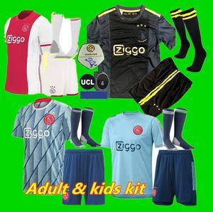 figli adulti 50 ° anniversario 20 21 Ajax del calcio Jersey DE JONG Jersey Ajax 2020 del calcio Jersey 2021 TADIC DE Ligt ZIYECH Uomo
