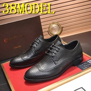 New Fashion Man Real Leather Shoes Square Toe Formal Prom Shoes Italian Style Handmade Slip on Shoes for Male