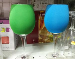 Cup Cover OEM Wine Glass Multicolors Wine for cocktail tazza del vino champagne vino dell'acciaio inossidabile Cup