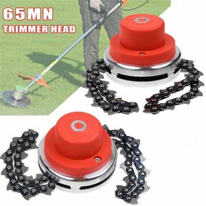 Universal 65Mn Trimmer Head Coil Brushcutter With Thickening chain Garden Trimmer Grass Parts For Lawn Mower Qd1m#