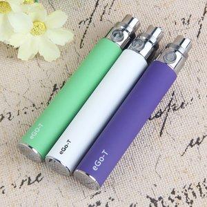 MOQ 10 шт. Эго Т батареи 650 мАч 900mAh 1100mah Vape Pen Battery E Cigarette VAGES 510 резьба 10 цветов