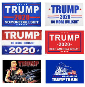 11 цветов декора Баннер Trump Flag Висячие 90 * 150см Trump Keep America Great Баннеры 3х5 футов Digital Print Donald Trump 2020 Флаги