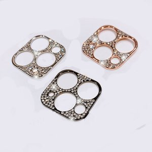 Bling Diamond Camera Lens Protector For iPhone 11 Pro Max Glitter Rhinestone Camera Protective Ring For iPhone 11 Pro Max Cover 420
