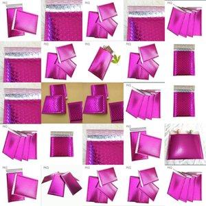 Sobres 1375X11 burbuja Polymailer acolchados 1375 x 11 pulgadas Peel Sello púrpura Paquete de 50 Aplus Medios de burbujas Sobres acolchados Polymailer VbjYE