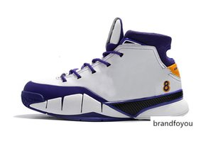 Men 1 Protro Basketball Shoes Close Out Undefeated Pheonix TV PE 13 Mamba Day UND 1S Sports Trainer Sneakers 40-46