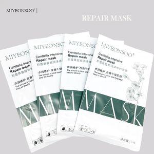Intensive Repair Mask Natürliche Inhaltsstoffe Centella Asiatica Oil-Control Black Face Skin Care Protein Essenz Mascarilla Großhandel Gesichtsmasken