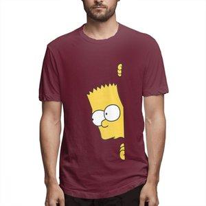 Coton Les Simpsons Mode Chemises Designer Femme Chemises Hommes manches courtes T-shirt Simpsons T-shirts imprimés causales c3706