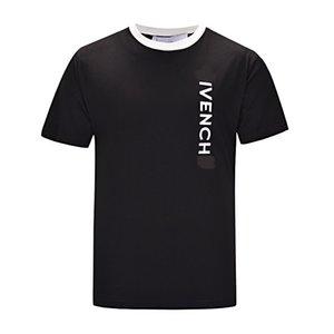 New Mens Fashion Designer T-Shirts Autumn Winter Men Long Sleeve Hoodie Hip Hop Sweatshirts Casual Clothes Sweater island M-3XL 0607 5colors