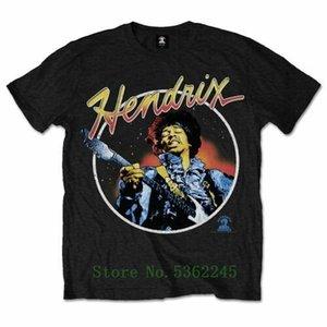 Hendrix 'Script Circle' T-Shirt - New &Amp; Official! Custom Tshirt 5xl T Shirt Men Better Hip Hop T-Shirt Men Cotton