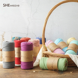Macrame Cord 3mm x109 yd Soft Macrame Rope for bag Wall Hanging Supplies Bohemia Dream Catcher DIY VBxW#