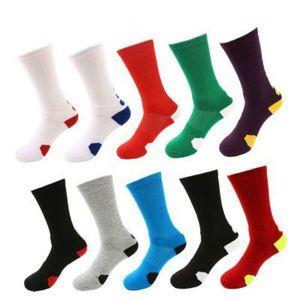 Men Classic Socks Mens Designer High-tops Towel-bottom Sport Style Socks Men Adult 2020 Casual Breathable Basketball Sock
