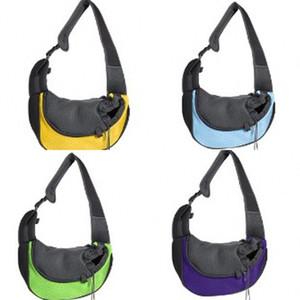 Chest Pet Carrier Dog Carriers Único Shoulder Bag Cães Backpack Oblique Crotch Mochila Ventilação Ar Livre Rede Sling Fora 22fd C2