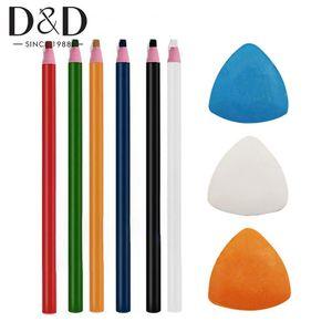 Marqueurs couture Marqueurs de Chalk Professional Tailleurs Chalk Tailor Crayon pour couture Marquage et fournitures Tracing