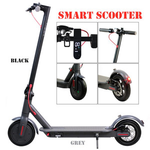 Monopattino elettrico Stock 250W Folding Bike Scooter bicicletta per la visualizzazione per adulti 36V con LED ad alta velocità Off Road MK083