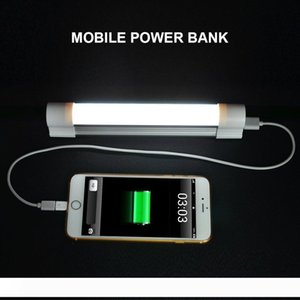 New Emergency Light Stick Lamp for outdoor Rechargeable Portable 3-Level Adjustable Brightness USB charge SOS mode Tube Light for outdoor
