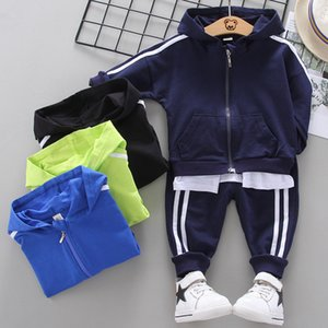Baby Clothing sets Casual Children Tracksuit Boy Girl Clothes Sets 2Pcs Sets Kids Leisure Sport Hoodes Pants