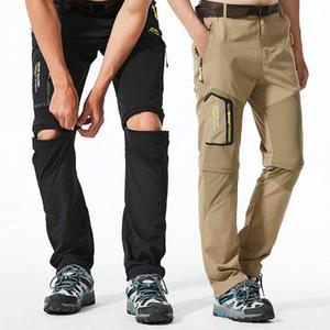 Quick Dry removibile escursionismo pantaloni Outdoor Mens respirabile di estate Shorts Montagna Pesca Camping Trekking Sports Pantaloni 6XL