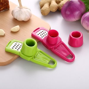 Multifunctional Ginger Garlic Press Grinding Grater Planer Slicer Mini Cutter Cooking Gadgets Tools Kitchen Accessories KHA286