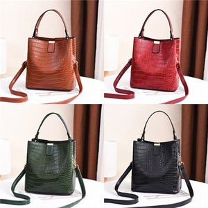 Women Set Bags 4Pcs Handbag Messenger Bag Four-Piece Suit Shoulder Bag Messenger Wallet Handbag Pu Leather Shoulder Bags#647