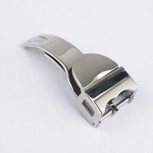 18мм высокого качества из нержавеющей стали 316L Silver Black Gold из розового золота высшего сорта Часы Застежка для Black Bay
