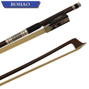 새로운 바이올린 부분 4/4 바이올린 활 흑단 몸 개구리와 나사 자연 급료 자연 몽골 말총
