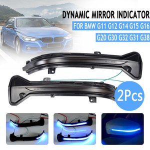 Измельчитель воды мигалка LED Dynamic Turn Signal Light для BMW 5 6 7 8 3 серии G38 G12 G20 G30 G31 G32 M5