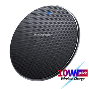 10W Fast Wireless Charger For Samsung Galaxy S10 S9 Plus S20 USB Qi Charging Pad for iPhone 11 Pro XS XR X 8Plus