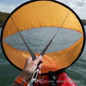"""42"""" Sottovento vento Paddle Popup Consiglio Kayak Vela Vento Sail PVC Accessori Nuovo"""