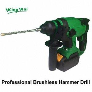 Elektrisch Cordless Brushless Samsung Akku Schlagbohrhammer N02B #