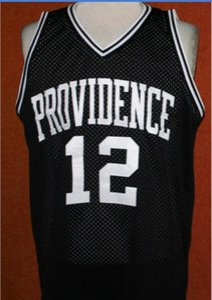 Donna-Uomo della gioventù # 12 God Shammgod Providencee College Basketball Jersey il formato S-6XL o su misura qualsiasi nome o numero di maglia