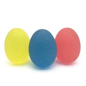 3 шт Stress Relief Болл рук Стресс шары Упражнение Сожмите яйца-Форма пальца руки и Грип общеукрепляющей терапии Болл