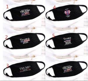 Donald Trump faccia Maschera Viso Bocca Maschera divertente anti-polvere di cotone USA Donne Uomini Unisex Moda inverno caldo Lavabile 5 stili Mask AHA586