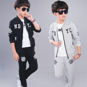 Spring Autumn New Children's Clothing Jacket And Pants 2 Pieces Clothing Sets For Boys Cotton Boy's Clothes Kids Clothes 2020