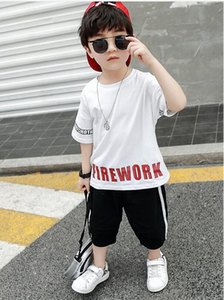 2020 new boys and girls designer T-shirts and shorts suits sportswear 2 kids clothing suits hot fashion summer