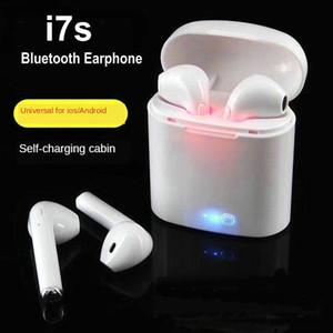 High Quality TWS i7s headphone Twins Wireless Earbuds Mini Bluetooth Earphone I7S earpiece Bluetooth earphone for iphone Android phones