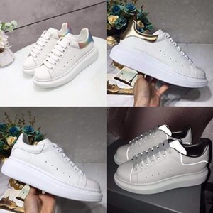 Nuovo Dener Soes donna Wees Tick Soled Leater Sneakers La-Up Breatable Tenis Feminino casual Cunky Tick Soled Leater Sneakers signore Zapato # 193