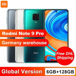 Versión global Xiaomi redmi Nota 9 Pro 6 GB 128 GB NFC teléfono inteligente Snapdragon 720G Octa Core Quad 64MP Cámara 6,67 pulgadas Pantalla 5020mAh