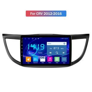 9inch Android 10.0 2.5D Ekran Araç Multimedya Oyuncu Honda CRV 2012-2016 Destek DSP 4G LTE için Dahili CarPlay IPS